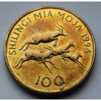 Танзания, 100 шиллингов 1994 г.