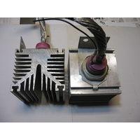Пара лавинных тиристоров ТЛ4-250-10 на радиаторах - цена снижена