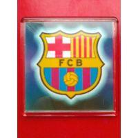 """Магнит с Логотипом Футбольного Клуба """"Барселона"""" Испания - Размер магнита 6/6 см."""