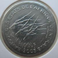 Центральная Африка 1 франк 2003 г. В холдере
