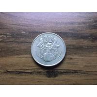 Кипр 10 центов 1998-1