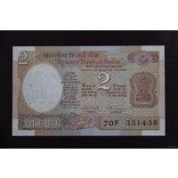 Индия 2 рупии UNC