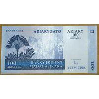 100 ариари 2004 года - Мадагаскар - UNC