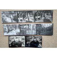 Вручение боевых наград в части. 8 минифотографий.