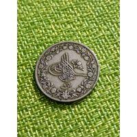Египет 1 гирш (AH1293/29) 1903 Абдул Хамид II ( состояние )