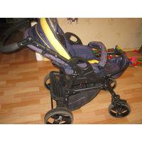 Коляска - универсальная, модульная рама, 4-колёсная, одноместная, поворотные колеса: передние, 16 кг