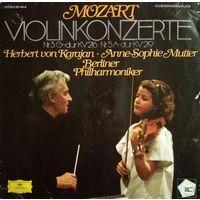 W. A. Mozart/Violinkonzerte/1978, DG, Germany, LP, EX