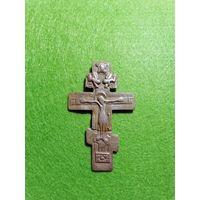 Нательный крест на реставрацию (10 на 5 см)(Предлагайте цену)