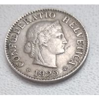 Швейцария 5 раппенов, 1925 6-3-31