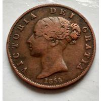 Великобритания 1 пенни, 1855 2-13-17