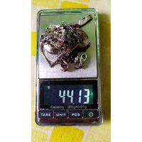 Лом билона,серебра.44,гр.с рубля