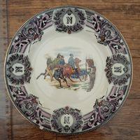Тарелка Наполеон Франция Война