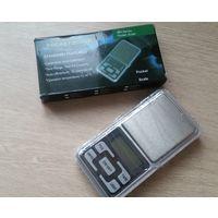 Ювелирные весы 0.01/200гр.(+ батарейки)