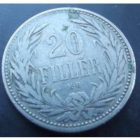Австро-Венгрия. 20 филлеров 1893
