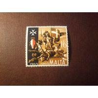 Мальта 1966 г.Аллегория Победы (из росписи).
