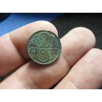 2 гроша 1926 г. Межвоенная Польша