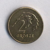 Польша, 2 гроша 2008 г.