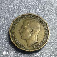 G Великобритания 3 пенса 1942 г.