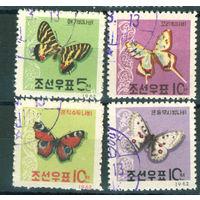 КНДР 1962 Бабочки