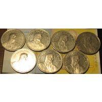 5 франков Швейцария (список)