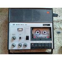 ВЕСНА-202 касетный магнитофон