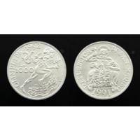 1000 лир 1992. Сан-Марино. Серебро