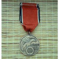 Медаль Третий Рейх. II Мировая война.
