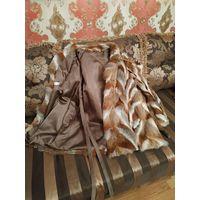 Марочная лисья шуба, полушубок, куртка. Состояние новой. Французский бренд: Yorn Boutique.