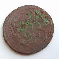 Денга 1744 (другой орёл )