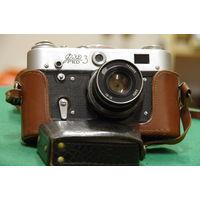 Фотоаппарат ФЭД-3 + фотоэкспонометр  ( Рабочий )