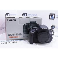 Зеркальная камера Canon EOS 600D Body (18Мп, поворотный экран). Гарантия