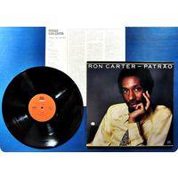 RON CARTER - PATRAO (JAPAN винил LP 1981 как новый)