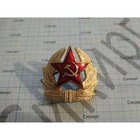 Кокарда ВС СССР солдатская (цена за 1 шт.)