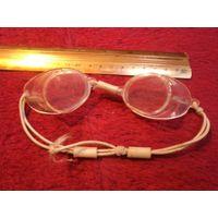 Очки для плавания винтажные с рубля!