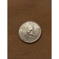 Канада 25 центов 2008 Фристайл