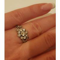 Кольцо Цветок Жизни, 925