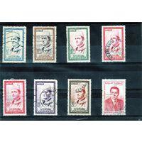 Марокко. Mi:MA 408-413. Король Мохаммед V. 1956.