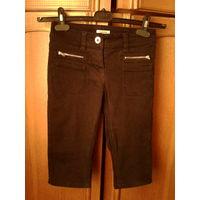Бриджи джинсовые,10-12 лет.