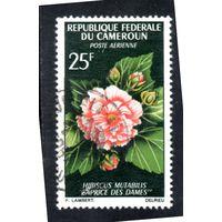 Камерун.Ми-466. Цветы. Гибискус. 1966.