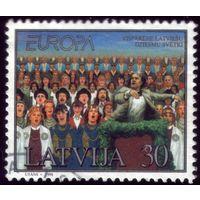 1 марка 1998 год Латвия 476