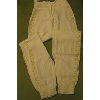 Льняные брюки (супер)