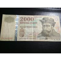 2000 форинтов Венгрии 1998 г