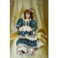 Кукла коллекционная (фарфор)