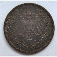1/2 марки. 1907 г. А