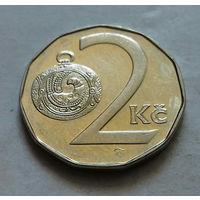 2 кроны, Чехия 1994 г.