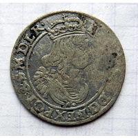 6 грошей 1663 года