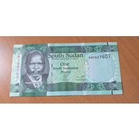 Южный Судан 1 фунт 2011г. UNC