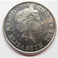 Восточные Карибы 2 доллара 2011 г 10 лет Финансовому Месяцу