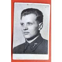 Фото старшего сержанта. 1939 г. 5х8 см
