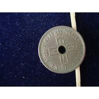 Монета 50 оре, Норвегия, 1947 г.